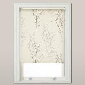 image-John Lewis & Partners Birch Daylight Roller Blind, Monochrome