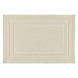 image-Grace Bath Mat RHOMTUFT Size: 60cm W x 90cm L, Colour: Beige