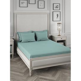 image-Kerin Pillowcase Rosalind Wheeler Colour: Duck Egg, Product Type: Housewife pillowcase