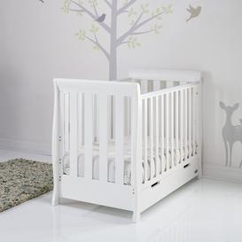 image-Stamford Mini Cot Bed with Mattress Obaby