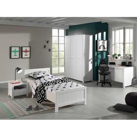 image-Eddy 4 Piece European Single Bedroom Set Isabelle & Max