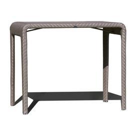 image-Skyline Journey Brown Rectangular Outdoor Bar Table