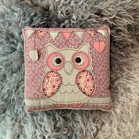 image-Owl Applique Cushion