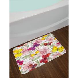 image-Clarkedale Rectangle Bath Mat Fleur De Lis Living