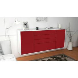 image-Southwell Sideboard Brayden Studio Colour (Body/Front): White mat/Red