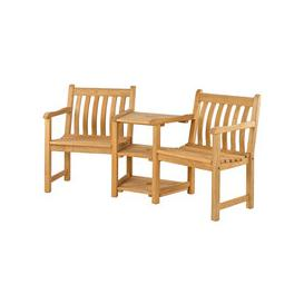 image-Alexander Rose Roble Wooden Garden Companion Love Seat