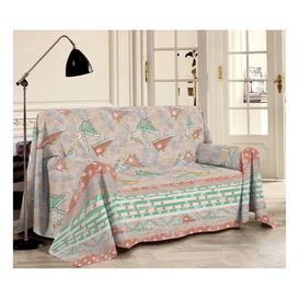 image-Fathi Bedspread Mercury Row Size: W250 x L290cm, Colour: Orange