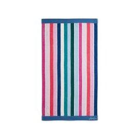 image-Joules Lost Garden Stripe Beach Towel, Multi