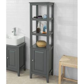 image-Burkhardt 40 x 150cm Tall Bathroom Cabinet Three Posts