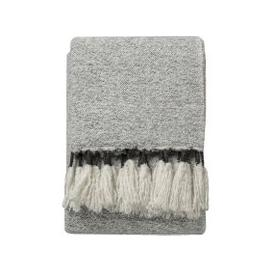 image-Quincy Hand-Woven Throw in Grey