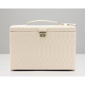 image-Extra Large Caroline Jewellery Box WOLF Colour: Ivory