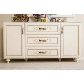 image-Bushnell 3 Drawer Combi Chest ClassicLiving