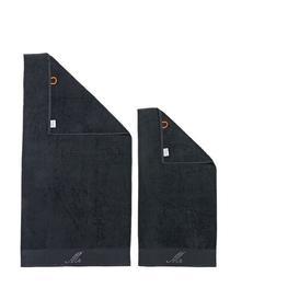 image-Nodden 2 Piece Towel Bale Brayden Studio Colour: Black