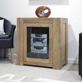 image-Homestyle Trend Oak Hifi Entertainment Cabinet