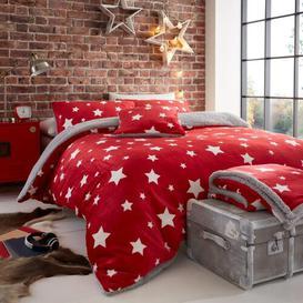 image-Kendrick Duvet Cover Set Brayden Studio Colour: Red, Size: Double - 2 Standard Pillowcases
