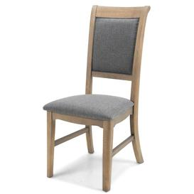 image-Vezelay Oak Furniture Dining Chair Pair