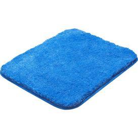 image-Lex Pedestal Mat Grund Colour: Blue