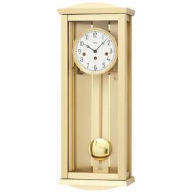 image-Pendulum Clock AMS Uhrenfabrik Colour: Gold und beige