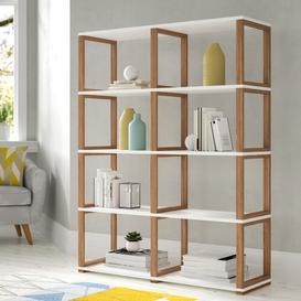 image-Barnette 155.5 cm Bookcase Ebern Designs