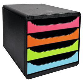 image-Mcdermott Desk Organiser Symple Stuff Colour: Black/Blue/Orange