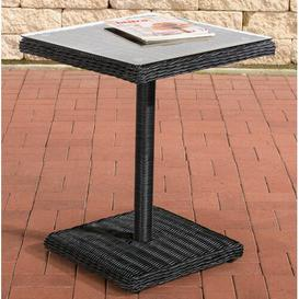 image-Rixensart Rattan Bistro Table Sol 72 Outdoor Colour: Black