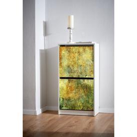 image-Motiv 178 Abstract Art 8 Pair Flip Down Shoe Storage Ebern Designs