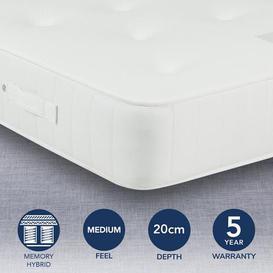 image-Fogarty Memory 1000 Pocket Mattress White