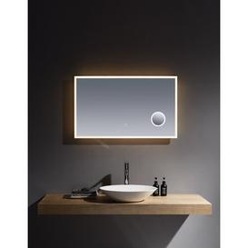 image-Bobb Magnifying Fog Free Bathroom Mirror with Shaver Socket Metro Lane