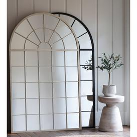 image-Gallery Hemsworth Black Leaner Mirror