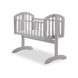 image-Obaby Sophie Swinging Crib - Taupe Grey