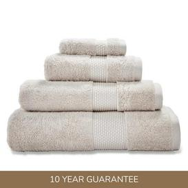 image-Dorma Silk Blend Biscotti Towel Biscuit (Brown)