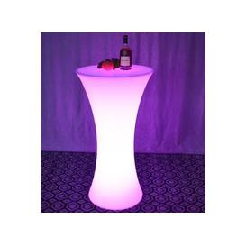 image-LED Round Bar Table