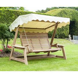 image-Alexander Rose Mahogany Wood Swing Seat