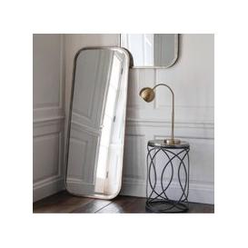 image-Malcolm Leaner Rectangular Floor Mirror With Metal Frame