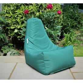 image-Bean Bag Chair Ebern Designs Upholstery Colour: Green
