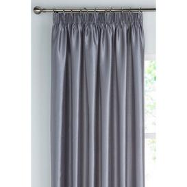 image-Faux Silk Lined Pencil Pleat Curtains