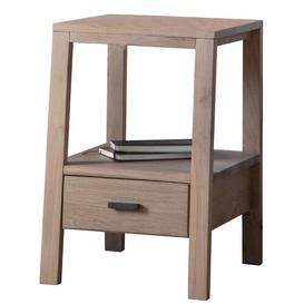 image-Cornish Side Table with Storage Beachcrest Home