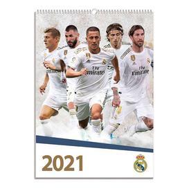 image-Real Madrid A3 Calendar 2021