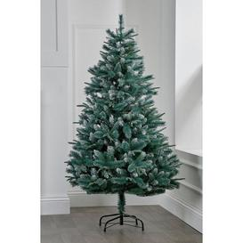 image-Mint Glitter Tipped Christmas Tree