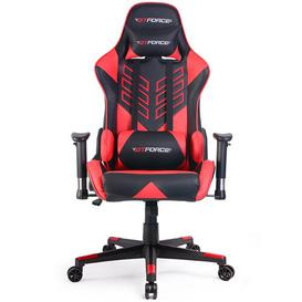 image-Forde Ergonomic Gaming Chair Brayden Studio Colour (Upholstery): Red