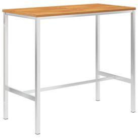 image-Lauder Wooden Bar Table Sol 72 Outdoor Size: 105cm H x 120cm W x 60cm D