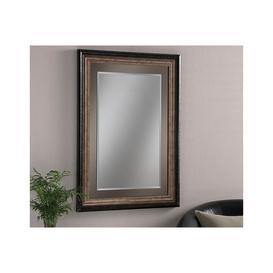 image-Belmond Rectangular Bronze Wall Mirror 91 x 116cm