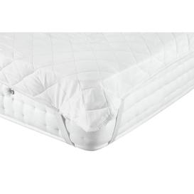 image-Argos Home Stain Resistant Mattress Protector - Single