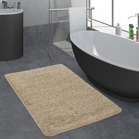 image-Gilder Bath Mat Symple Stuff Size: 60cm x 100cm, Colour: Beige