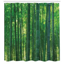 image-Trees Shower Curtain East Urban Home Size: 180cm H x 175cm W
