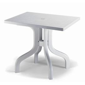image-Leela 80cm Folding Outdoor Dining Table Sol 72 Outdoor Colour: White