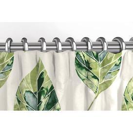 image-Boler Leaf Tailored Pencil Pleat Room Darkening Thermal Curtains