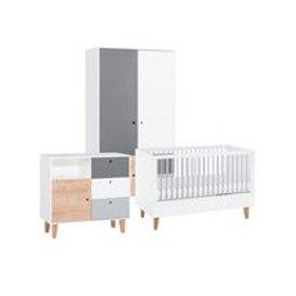 image-Vox Concept Cot Bed 3 Piece Nursery Set