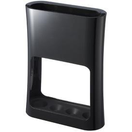 image-Oval Umbrella Stand Yamazaki Colour: Black