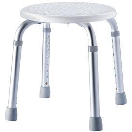 image-RIDDER Bathroom Stool Round Grey 150 Kg A0060307